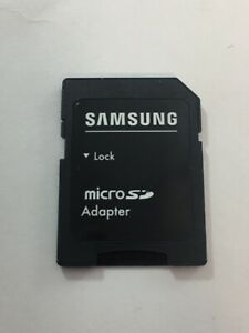 Genuine Original Samsung Micro SD Card Adapter