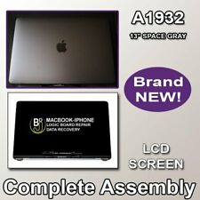 MACBOOK PRO A1932 13 LCD SCREEN COMPLETE ASSEMBLY SPACE GRAY