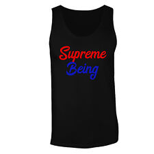 Supreme Being Red And Blue Funny Men's T-Shirt/Tank Top ff58m