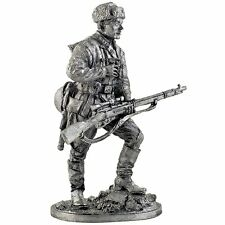 The sniper Red Army V. Zaitsev. Tin toy soldier Collection 54mm metal sculpture