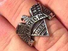 HARLEY BIKER RING Stainless Steel American Biker Ring Men Sizes 13,12,11,10