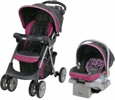 Graco Comfy Cruiser Click Connect 30 Travel System Infant Baby Car Seat Stroller