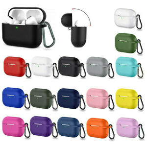 For Apple Airpods Pro 3 Wireless Charging Silicone Case Cover Protective Skin