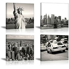 SZ HD New York City Landmark Picture Canvas Prints Wall decor, Beautiful Wall 4