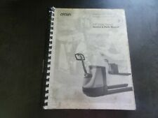 Crown Lift Trucks RR/RD 5200S Forklift AC Traction Service & Parts Manual