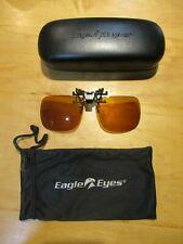 Eagle Eyes Polarized Sunglass NASA optic innovation technology - Clip on