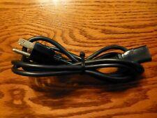 3-Prong Power Cord 10A 125V Computer / Monitor Cord