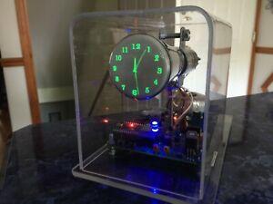 New design century font Mini Oscilloscope Clock 2AP1 CRT Cathode ray tube Scope