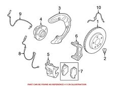 For BMW Genuine ABS Wheel Speed Sensor Front 34526850765