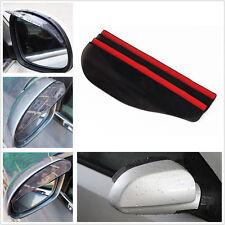 2x Car Pickup Rear View Side Mirror Rain Board Sun Shield Water Guard Eyebrow ZY