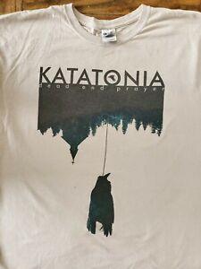 "Katatonia ""Dead End Prayer North American Fall 2013 Tour Shirt"" Large"