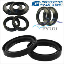 4 Pcs 37x50x11 Motorcycle Front Fork Dust Oil Seal For Shock Absorber