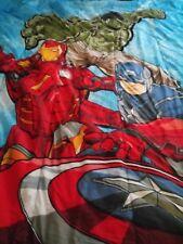 Marvel Avengers Comics Twin Sheets and Reversible Comforter