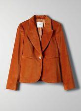 Aritzia Wilfred Mona Velvet blazer