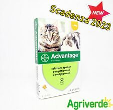 Advantage Spot-on Gatti e Conigli piccoli 40 mg Antiparassitario Bayer Scad 2023