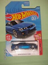 HOT WHEELS 2018  46/365  Nissan Skyline GT-R R33  THEN AND NOW 6/10  NEW