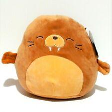 """Squishmallow Walrus 8"""" Soft Plush Pet Stuffed Animal Pillow New"""