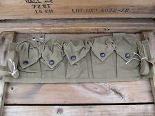 100%Orig WWI WW1 Early WWII Grenade Or Mod Rifle Bandoleer Pouch Vest M1 Garand