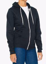 American Apparel Zip Hoodie Sweatshirt * Flex Fleece F497  XS *MSRP $48