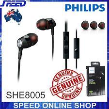 PHILIPS SHE8005 In-Ear Headset with Mic - Headphones - Earphones - Deep BASS !