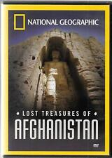 National Geographic Lost Treasures of AFGHANISTAN, 2006 Documentary, USED DVD