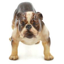 Vintage Royal Douton Brindle Bulldog Dog 1047 England