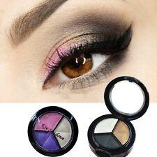 Sombra de ojos Smokey cosmética 3 colores mate natural maquillaje paleta Naked