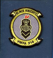 VMFA-314 BLACK KNIGHTS USMC MARINE CORPS F-18 Hornet Fighter Squadron Patch