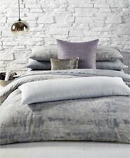 $625 Queen Set 3pcs Calvin Klein Home QUEEN Duvet  + 2 shams Caspain Light Sand