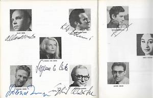 Lisbon OPERA Alban BERG Signed Program WOZZECK 1980