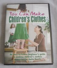 YOU CAN MAKE CHILDREN'S CLOTHES DVD 2007