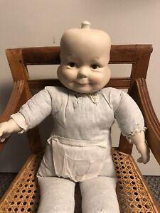 "3 Faces of Eve Porcelain Doll Vintage Rare Happy Sad Sleeping 21"""