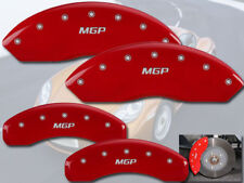 "1997-2008 Porsche Boxster Front + Rear Red ""MGP"" Brake Disc Caliper Covers"