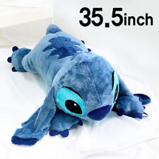 BNWT Soft 35.5inch Large Stitch Plush Toy Cushion Bed Body Pillow Decoration