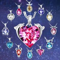 Charms Pendants Elegant Crystal New Constellation Gift Jewelry Zodiac Necklace