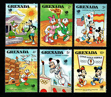 Imagen del artículo GRENADA 1988 MNH SHORT SET Olympic games Seoul,Disney **