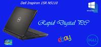 Dell Inspiron 15R N5110 i3-2330M 8Gigs 640Gig HDD Windows 10 Home 64x
