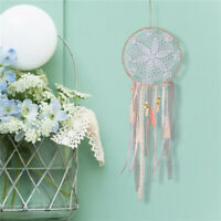 Girl Large Handmade Colorful Dream Catcher Rope Wall Hanging Stripe Decor Craft