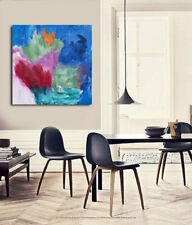 Modern Wall Decor,contemporary art,Abstract Acrylic Painting onCanvas,REFLECTION