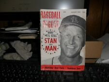 AUGUST 1957  STAN THE  MAN ON THE COVER COMPLETE,DAMAGE TO THE SPINE