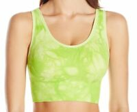 Marc New York Women's Sports Bra Green Size Large L Tie-Dye Stretch $38 #382