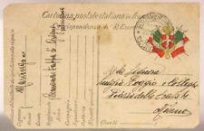 POSTA MILITARE 15^ DIVISIONE 22.11.1916 COMANDO TAPPA DI GRIGNO TRENTO #XP262D
