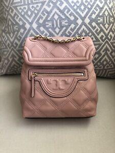Tory Burch Fleming Mini Leather Backpack $458