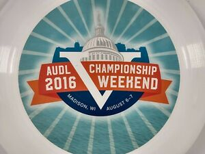 2016 AUDL Chamionship Ultimate Frisbee Disc Discraft 175 Gram Ultra Star