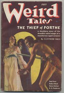 WEIRD TALES/1937/JULY/LOVECRAFT's DEATH/KUTTNER/CLARK ASHTON SMITH/BLOCH/