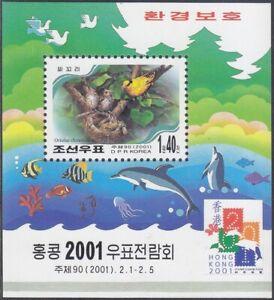 Korea (N) - 2001 - MNH - (SS 488) Bird
