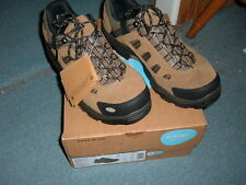 Hi-Tec Bandera Low WP # 52064 Hiking Boot,Bone/Brown/Mustard Men size 13 New/Box