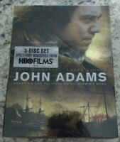 HBO - John Adams (DVD, 2008, 3-Disc Set) - Paul Giamatti  - * NEW / SEALED *
