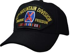 10th Mountain Division Enduring Freedom Ball Cap Offically Licensed