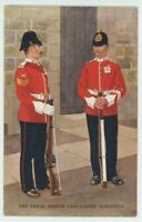 North Lancashire Regiment, Gale & Polden 2093 J. McNeill Art Postcard, B999